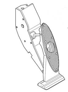 BMW Mini R50 Fahrpedalmodul