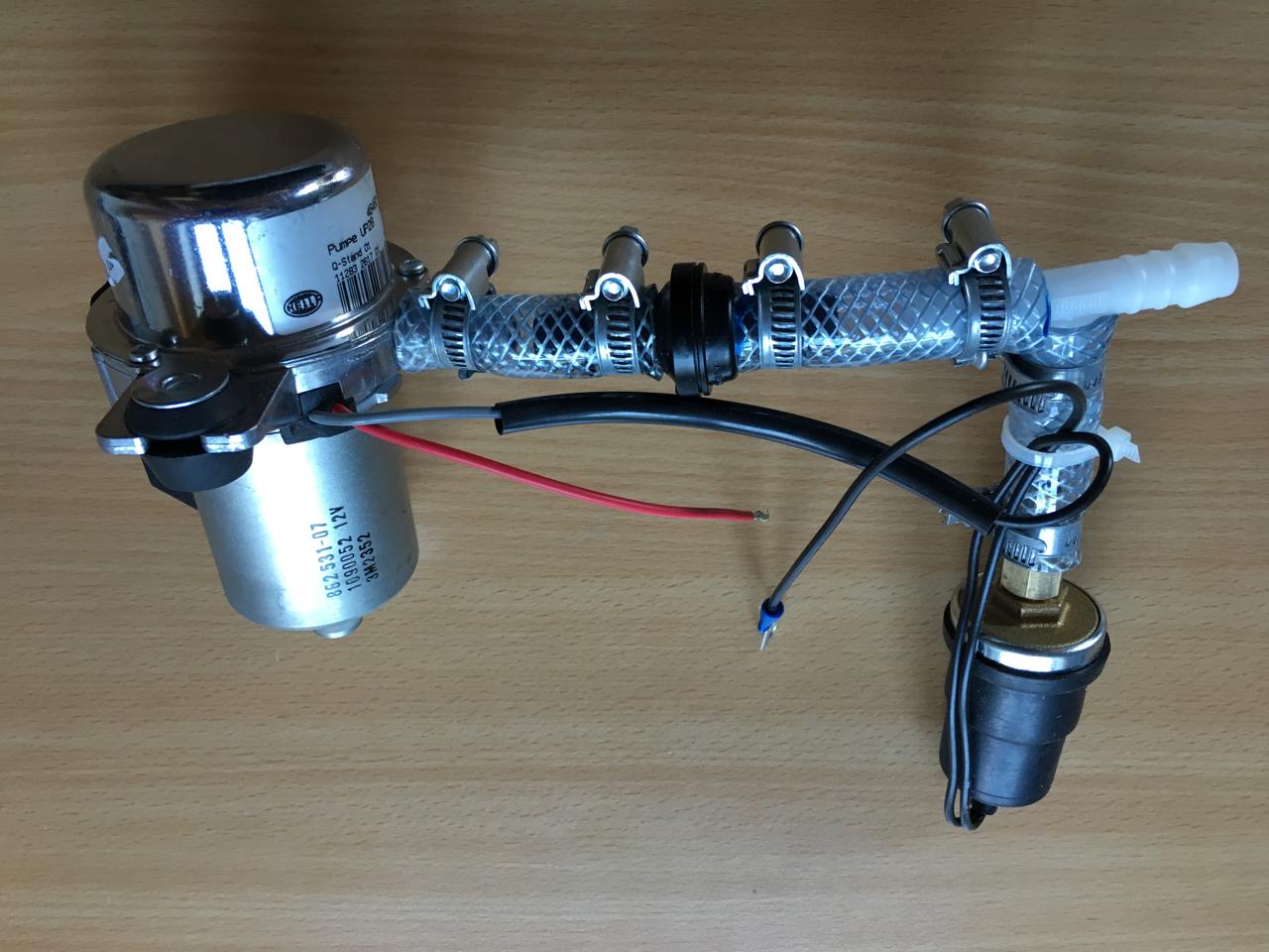 Elektrische Unterdruckpumpe