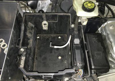 Batterie Wärmeschutzkasten